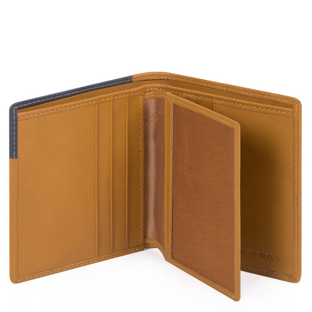 Piquadro Porta carte di credito Hakone Cuoio Blu