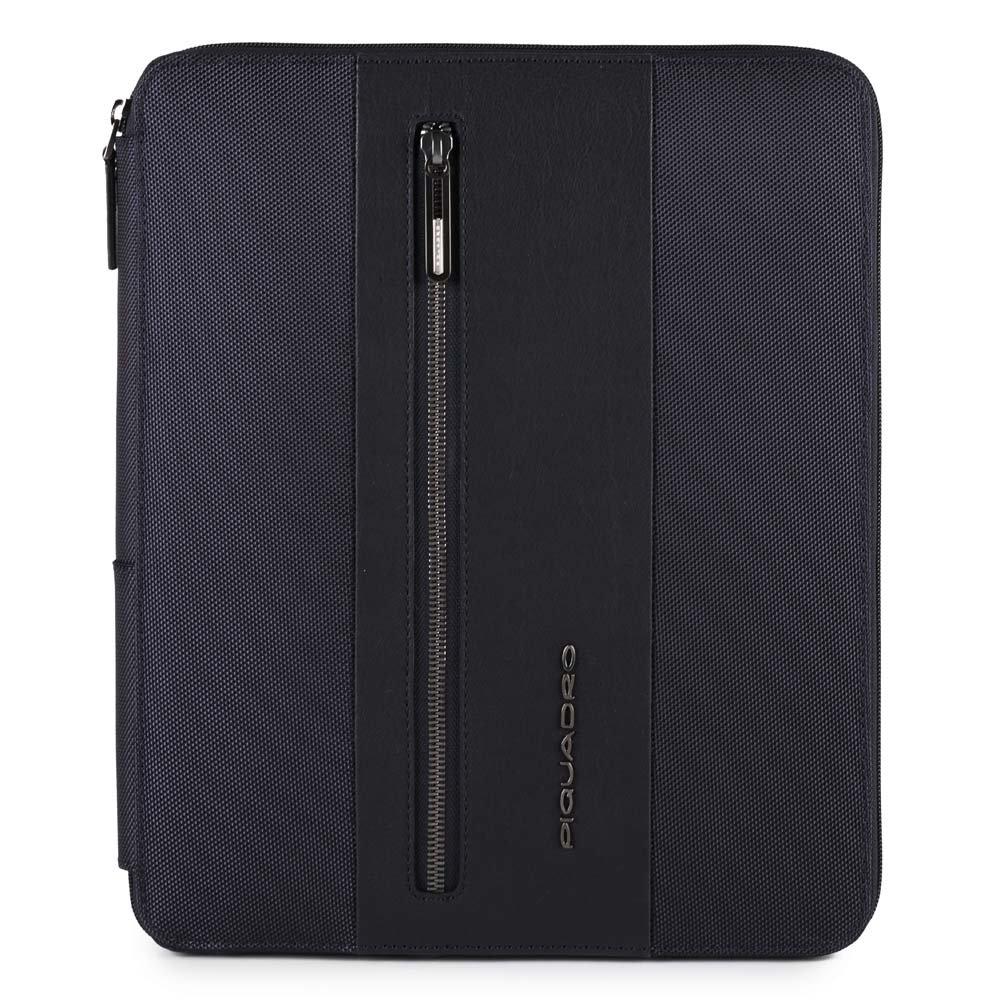 Piquadro Portablocco Brief con scomparto porta iPad® e porta penne Blu