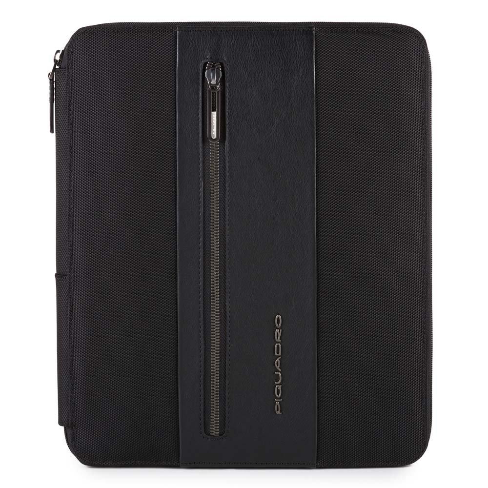 Piquadro Portablocco Brief con scomparto porta iPad® e porta penne Nero