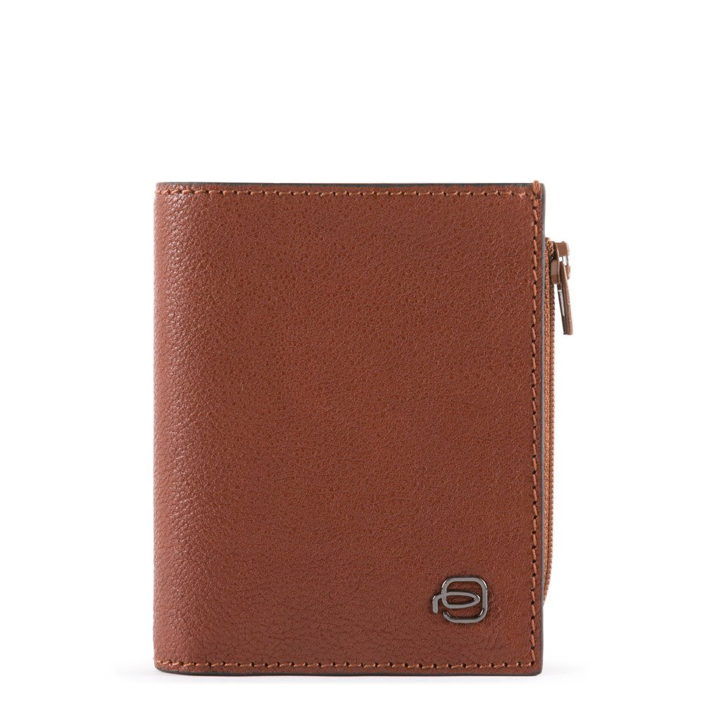 Piquadro Portafoglio pocket con portamonete, porta Black Square