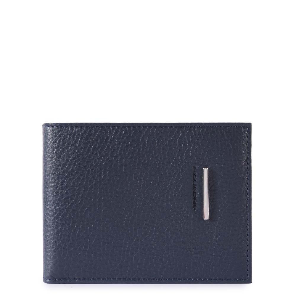 Piquadro Portafoglio uomo Modus con 12 porta carte di credito Nero