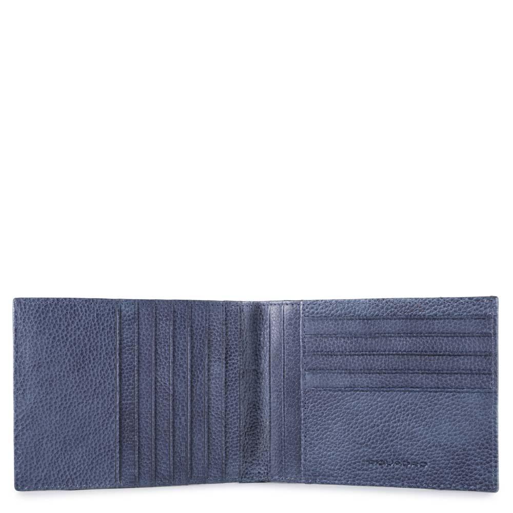 Piquadro Portafoglio uomo P16Plus con 12 scomparti porta carte di credito Avio
