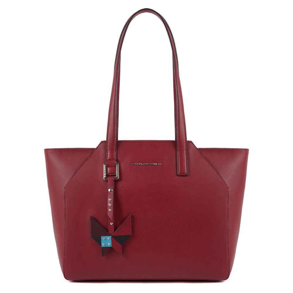 Piquadro Shopping bag porta iPad® con porta computer Muse Bordeaux