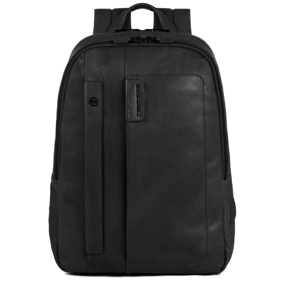 Piquadro Zainetto P15S porta computer con scomparto porta iPad®1 nero