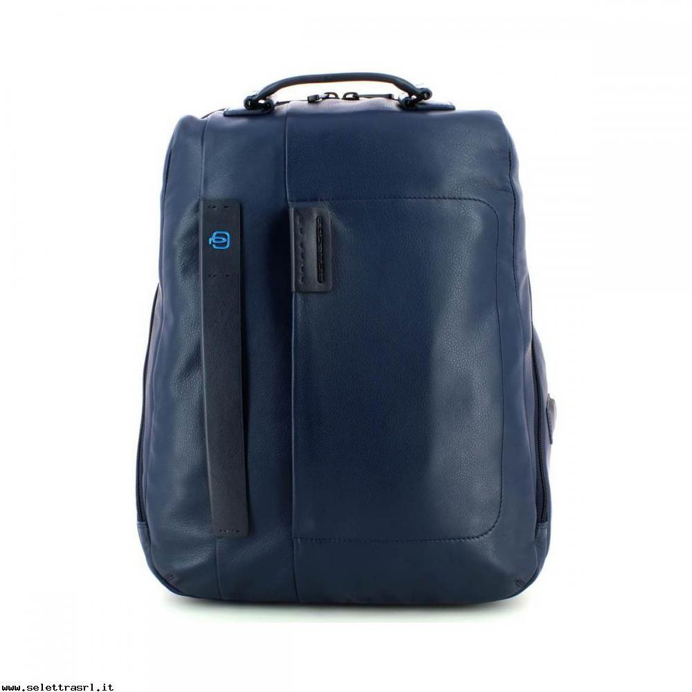 Piquadro Zainetto Pulse P15S Blu