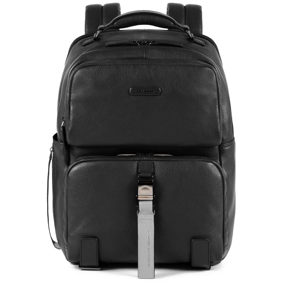 Piquadro Zaino fast-check porta PC e iPad® con tasca porta Modus Special Nero