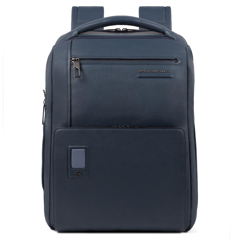 Piquadro Zaino grande personalizzabile porta PC e porta Akron