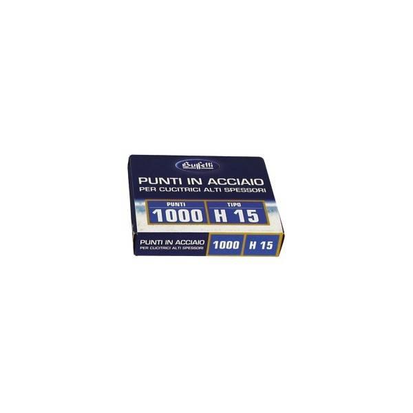 Punti metallici per alti spessori Serie H15 13 mm buffetti