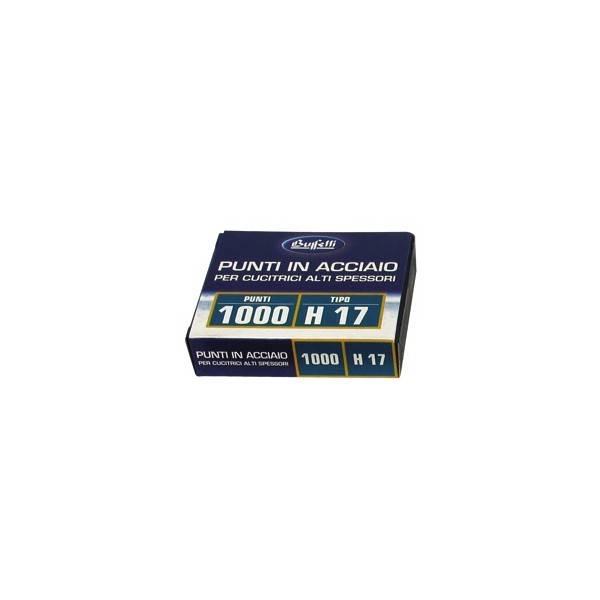 Punti metallici per alti spessori Serie H17 13 mm buffetti