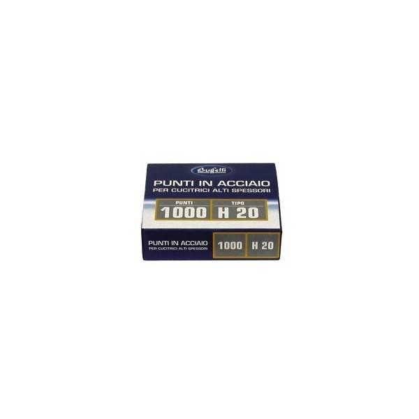 Punti metallici per alti spessori Serie H20 13 mm buffetti