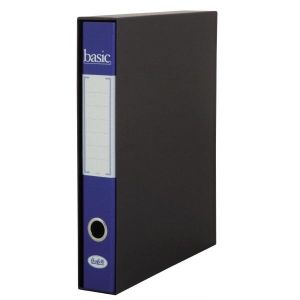 Raccoglitore  Basic - F.to Protocollo - Dorso 5 cm Blu