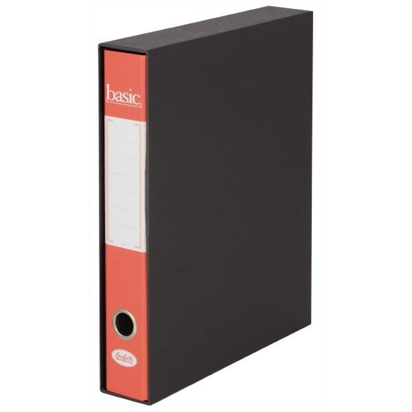 Raccoglitore  Basic - Scatola 9 pz - Dorso 5 cm Rosso
