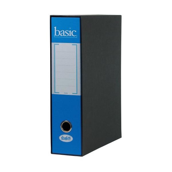 Raccoglitore Basic - F.to Protocollo - Dorso 8 cm Azzurro