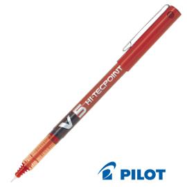 ROLLER HI-TECPOINT V5 ROSSO 0,5MM PILOT
