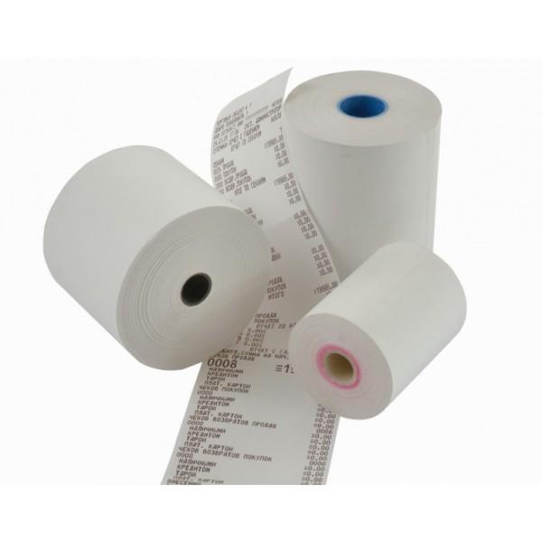 Rotoli in carta termica 62 mm x30m x 12 mm - 55 g - CF 100 Rotoli