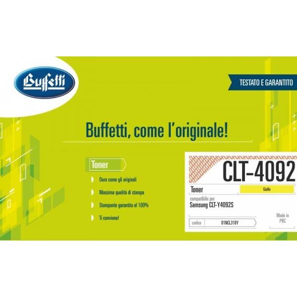 SAMSUNG toner - compatibile - CLT-Y4092S-ELS - giallo