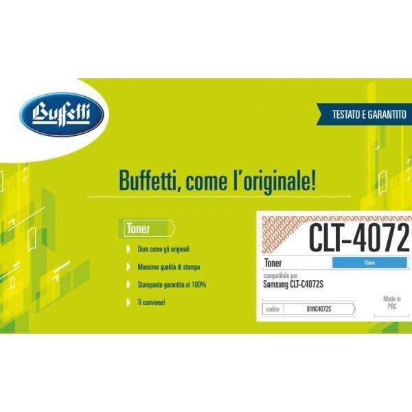 SAMSUNG toner - compatibile - CLT-C4072S-ELS - ciano
