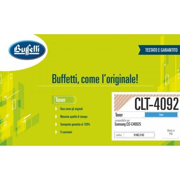 SAMSUNG toner - compatibile - CLT-C4092S-ELS - ciano