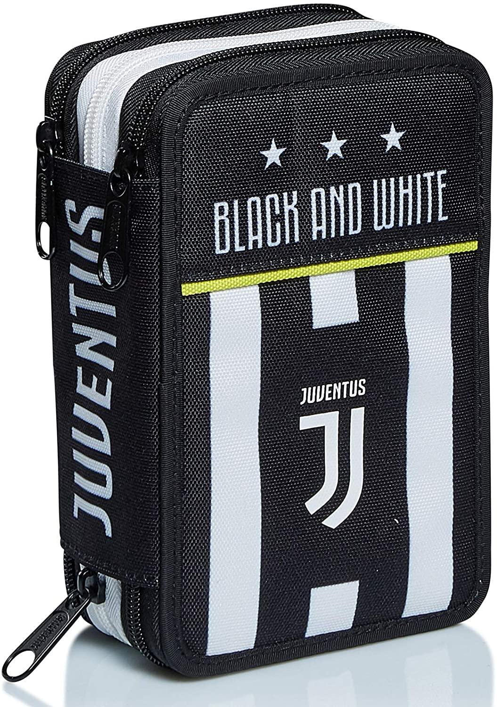 Seven Astuccio triplo Best Match Juventus Bianco e Nero