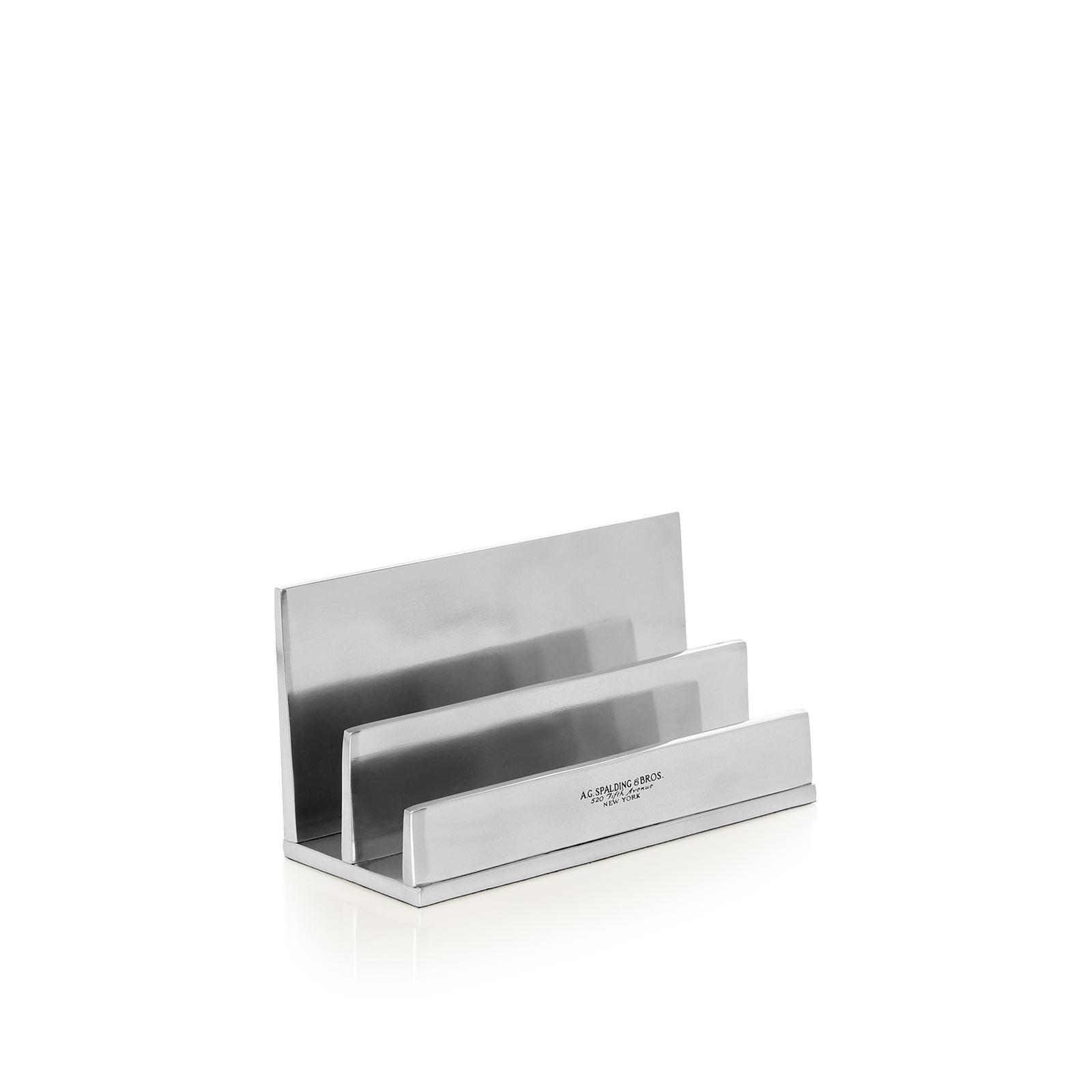 Spalding e Bros Porta Lettere Alluminio