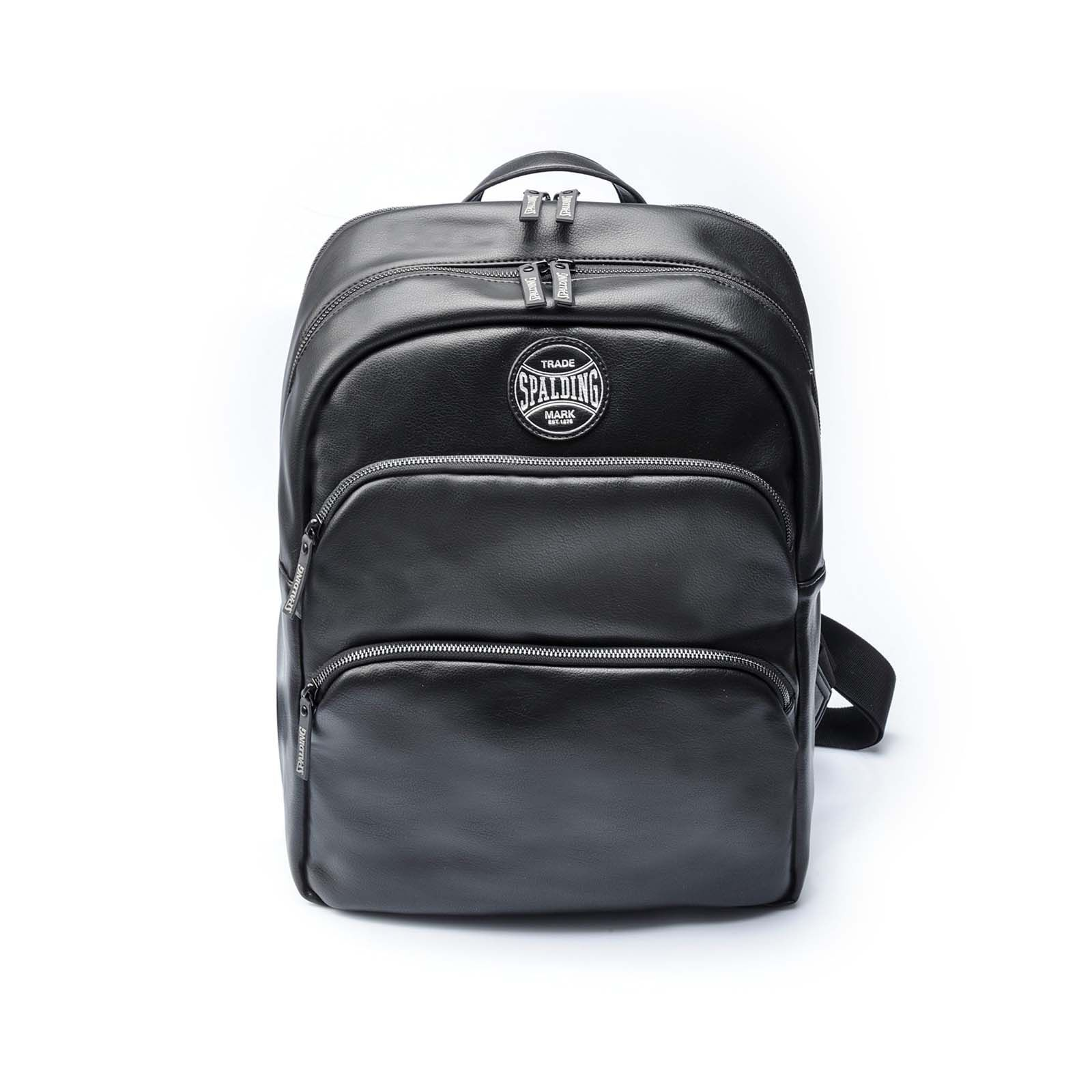 Spalding & Bros Zaino ROUND BACKPACK PLAY OFF NERO