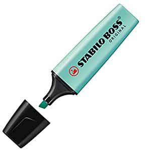 Stabilo Boss Original Evidenziatori punta a scalpello 2 – 5 mm Linea Carta da Zucchero