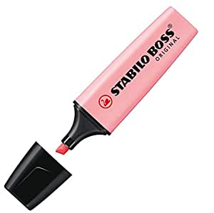 Stabilo Boss Original Evidenziatori punta a scalpello 2 – 5 mm Linea Rosa Antico