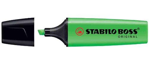 Stabilo Boss Original Evidenziatori punta a scalpello 2 – 5 mm Linea Verde