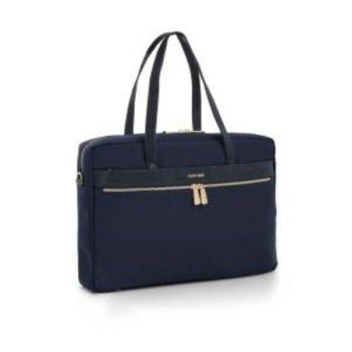 Tote bag FullTime® - porta PC (fino a 15.6'') - Capri - Blu Navy