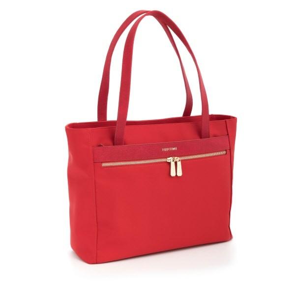 Tote bag FullTime® - porta PC (fino a 15.6'') - Capri - Rosso