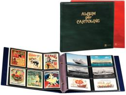 Abafil Album per Cartoline SENCARD Rosso