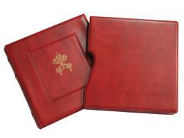 Abafil Cartella Elegant Vaticano Rosso
