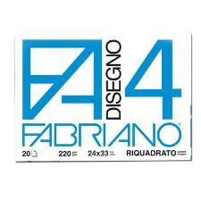 ALBUM FABRIANO4 24X33CM 220GR 20FG L SQUADRATO