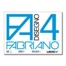 ALBUM FABRIANO4 24X33CM 220GR 20FG LISCIO