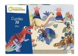 Avenue Mandarine Puzzle 3D Dino