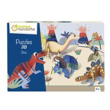 Avenue Mandarine Puzzle in 3D I Dinosauri