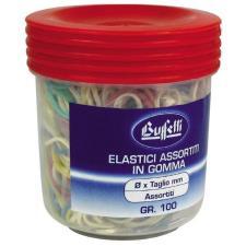 Barattolo elastici Misura da 30 mm a 150 mm conf. 100 g Buffetti