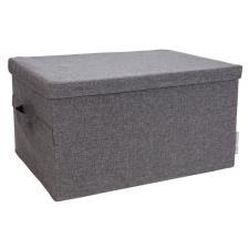 Bigso Box Storage Large - Scatola con coperchio - Grigio