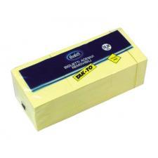 Blocchetti riposizionabili Tak To 40x50 mm giallo Buffetti