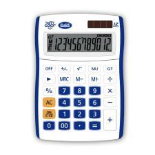 Buffetti Calcolatrice Happy Color Big 12 digit - 130x185 mm - 4 funzioni + memoria Blu