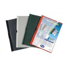Buffetti Cartellina colori coprenti con clip - 60 fg - PVC - grigio