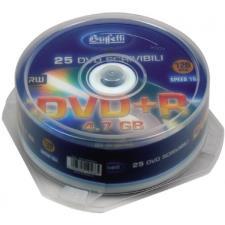 Buffetti - DVD+R - 4,7 GB - spindle da 25 - Silver