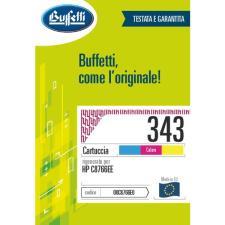 Buffetti HP Cartuccia inkjet - compatibile - C8766E - 3 colori