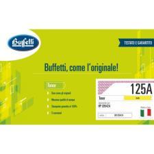 Buffetti HP Toner - compatibile - CB542A - giallo