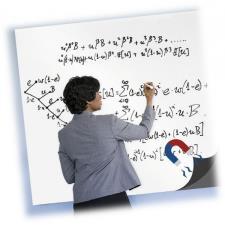Buffetti Lavagna adesiva Magnetica in rotolo 45x60 cm Bianca