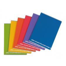 Buffetti Maxiquaderno f to A4 rigatura C 1 rigo con margine Happy Color Pastello 100g