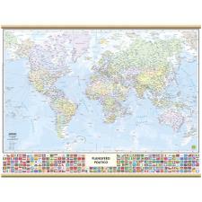 Cartografia Belletti Mondo con Bandiere – 63×50 cm