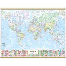 Cartografia Belletti Mondo con Bandiere – 91×70 cm