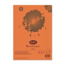 Cartoncini Michelangelo Color A4 -Arancio- risma da 50 fogli - 160gr.-colori forti