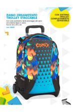 Comix Zaino Trolley Staccabile Panini Special Limited - Azzurro
